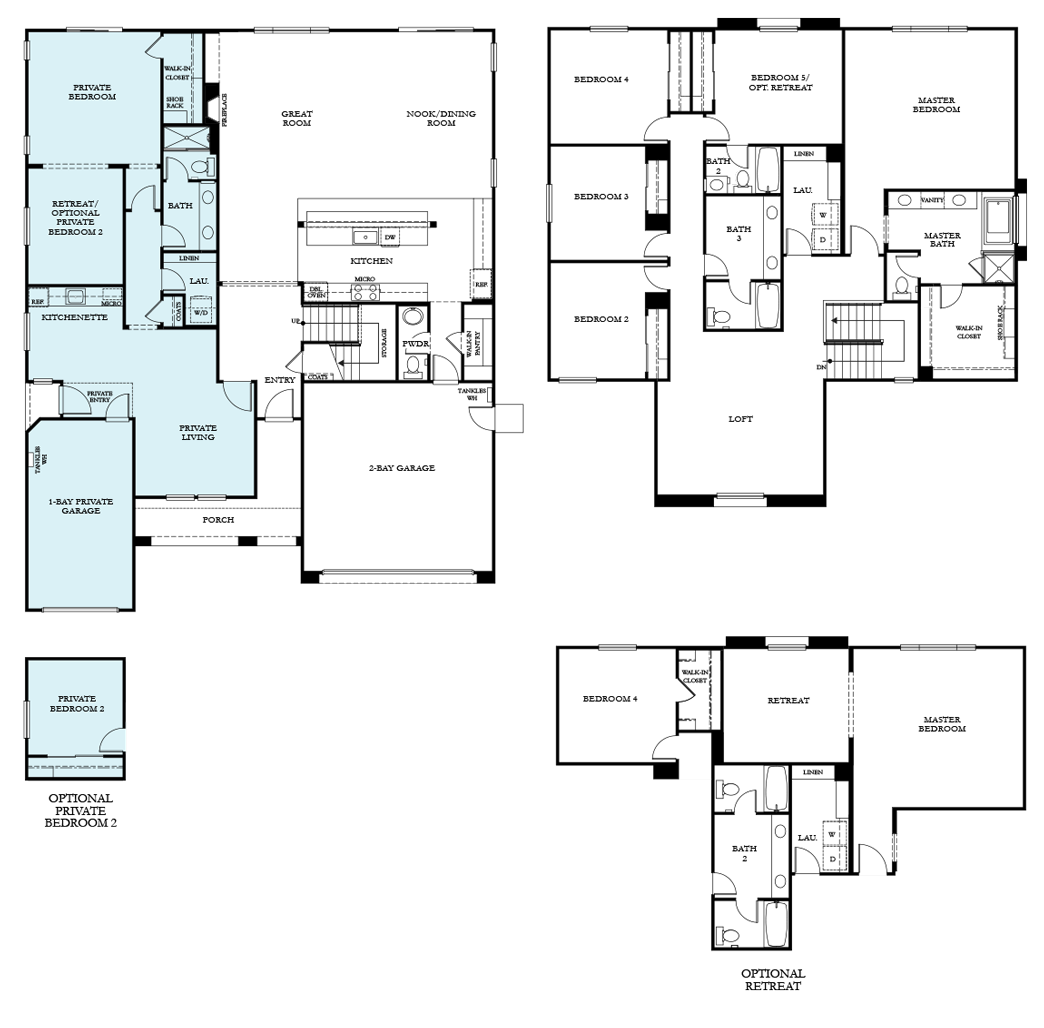 residence4122 Next Gen floor plan