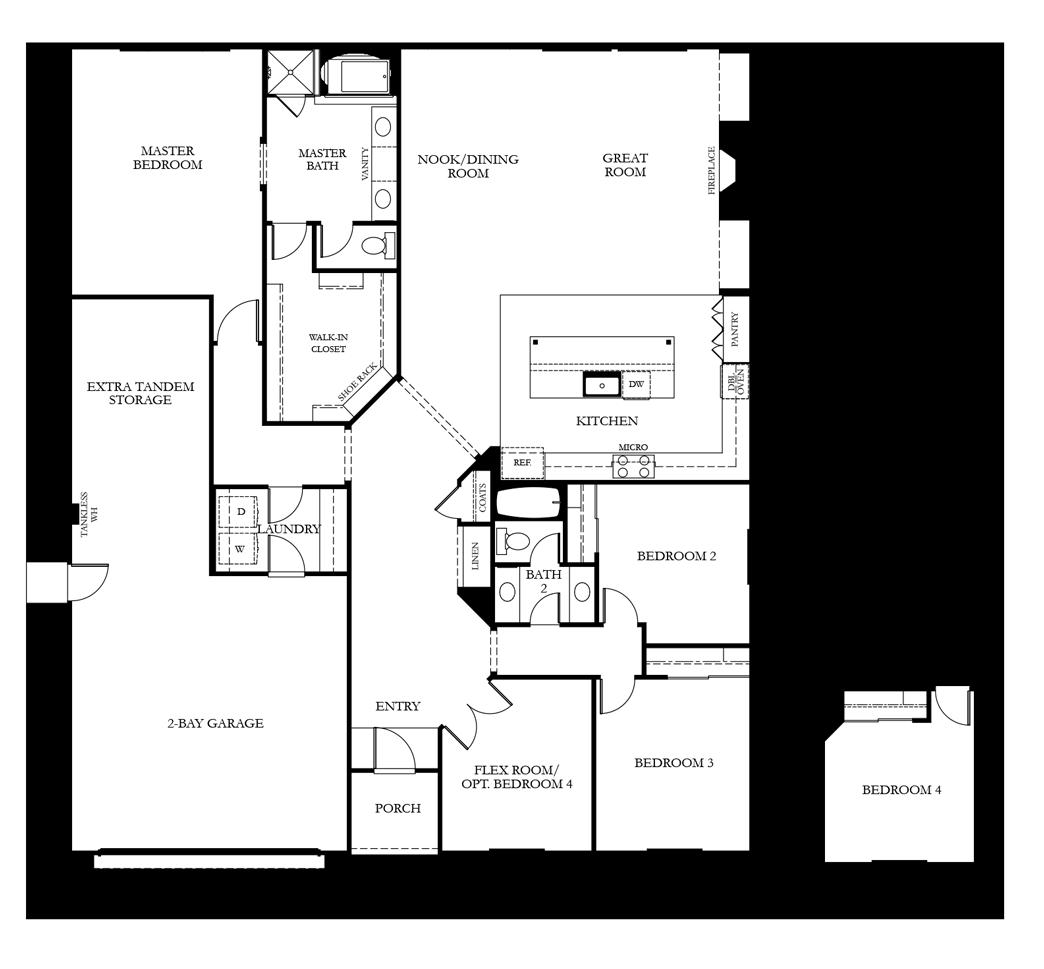 residenceResidence 1 floor plan