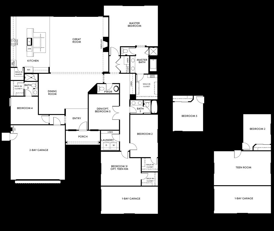 residenceResidence 2 floor plan