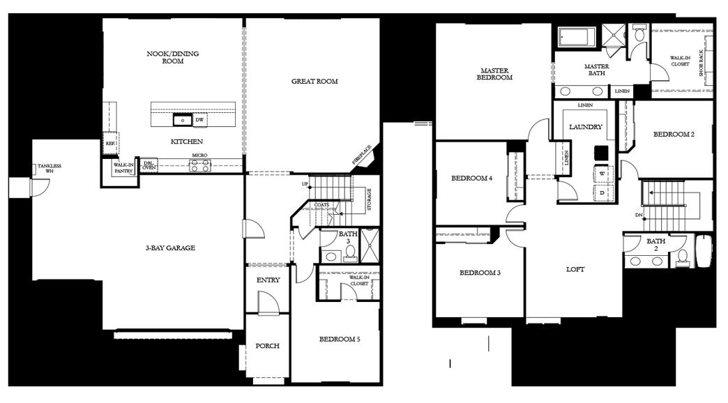 residenceResidence 3 floor plan