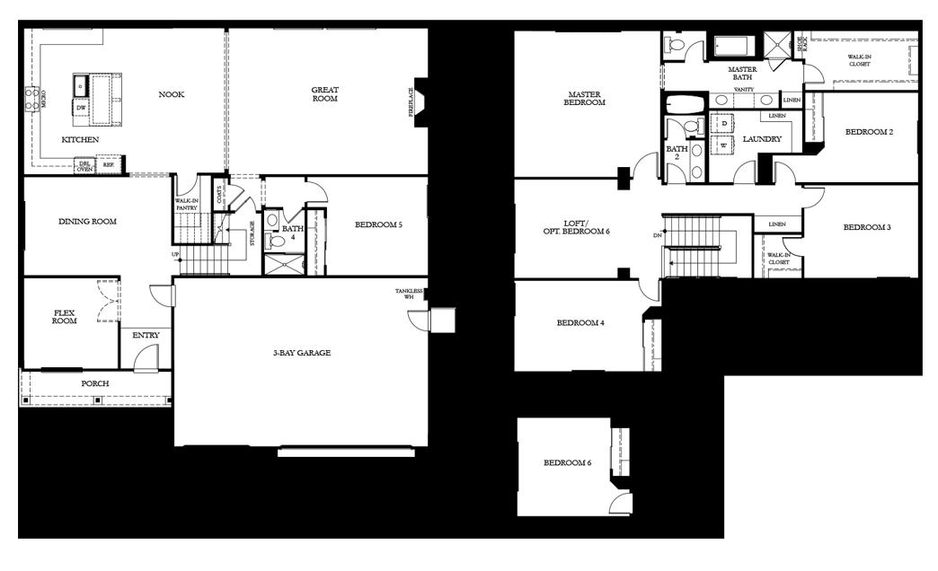 residenceResidence 4 floor plan