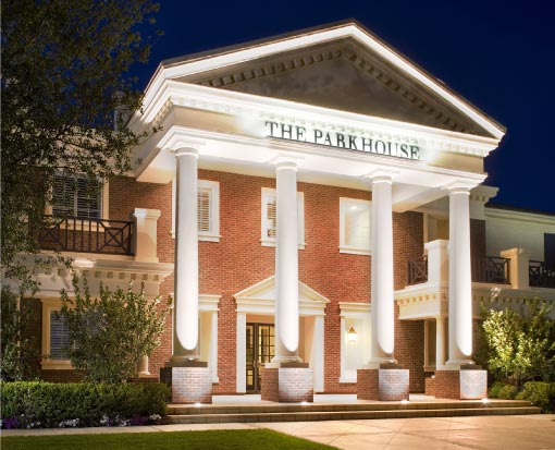 The Parkhouse at night