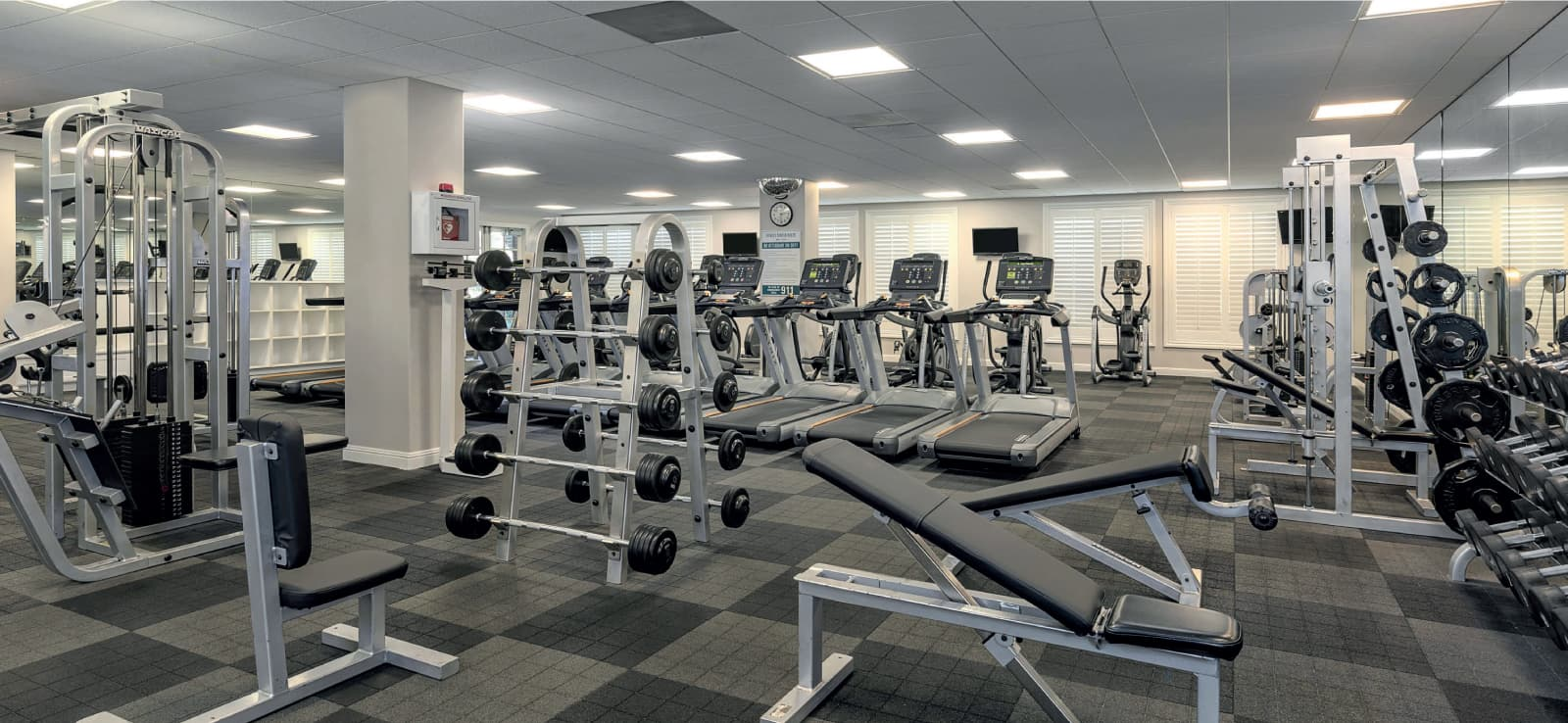 Fitness Center at The Parkhouse in Shady Trails