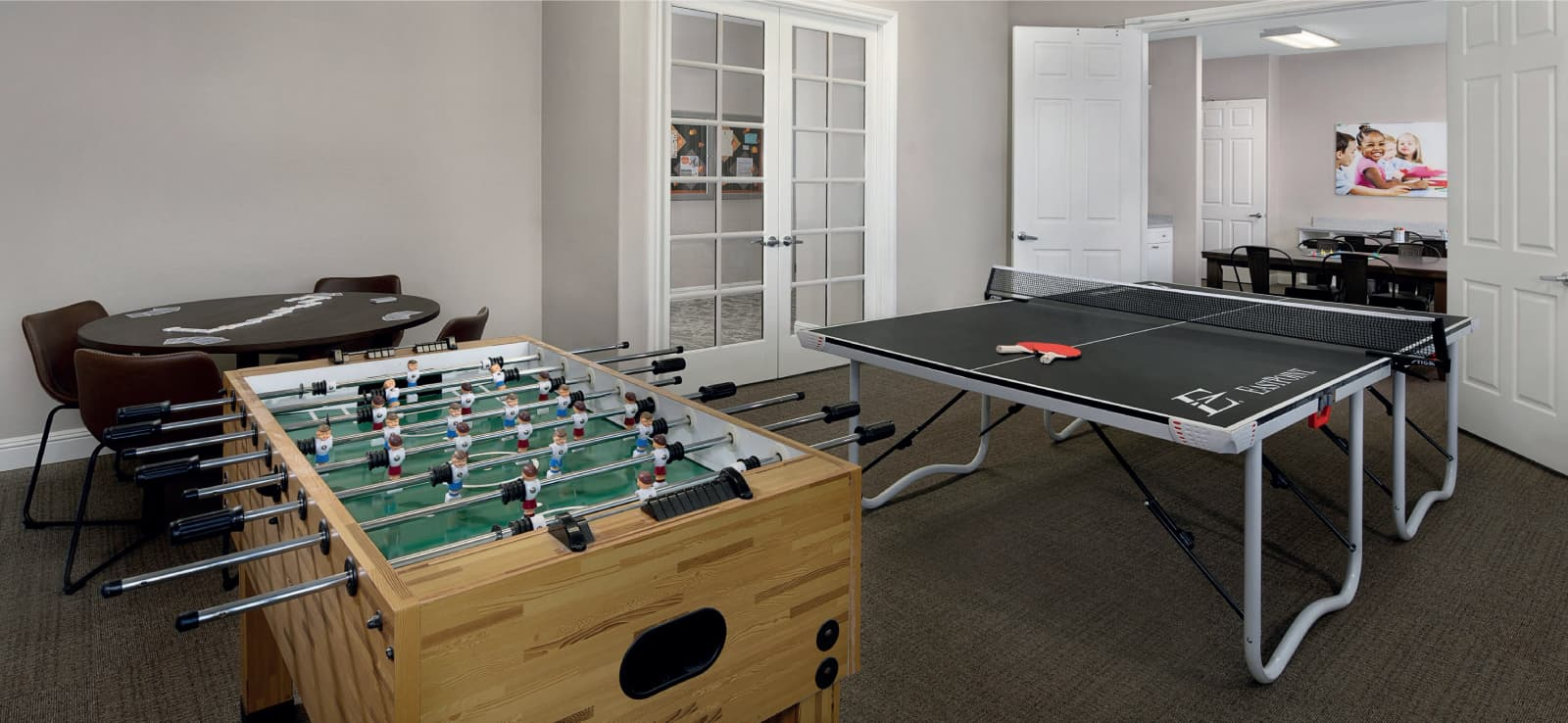 Game Room at The Parkhouse in Shady Trails