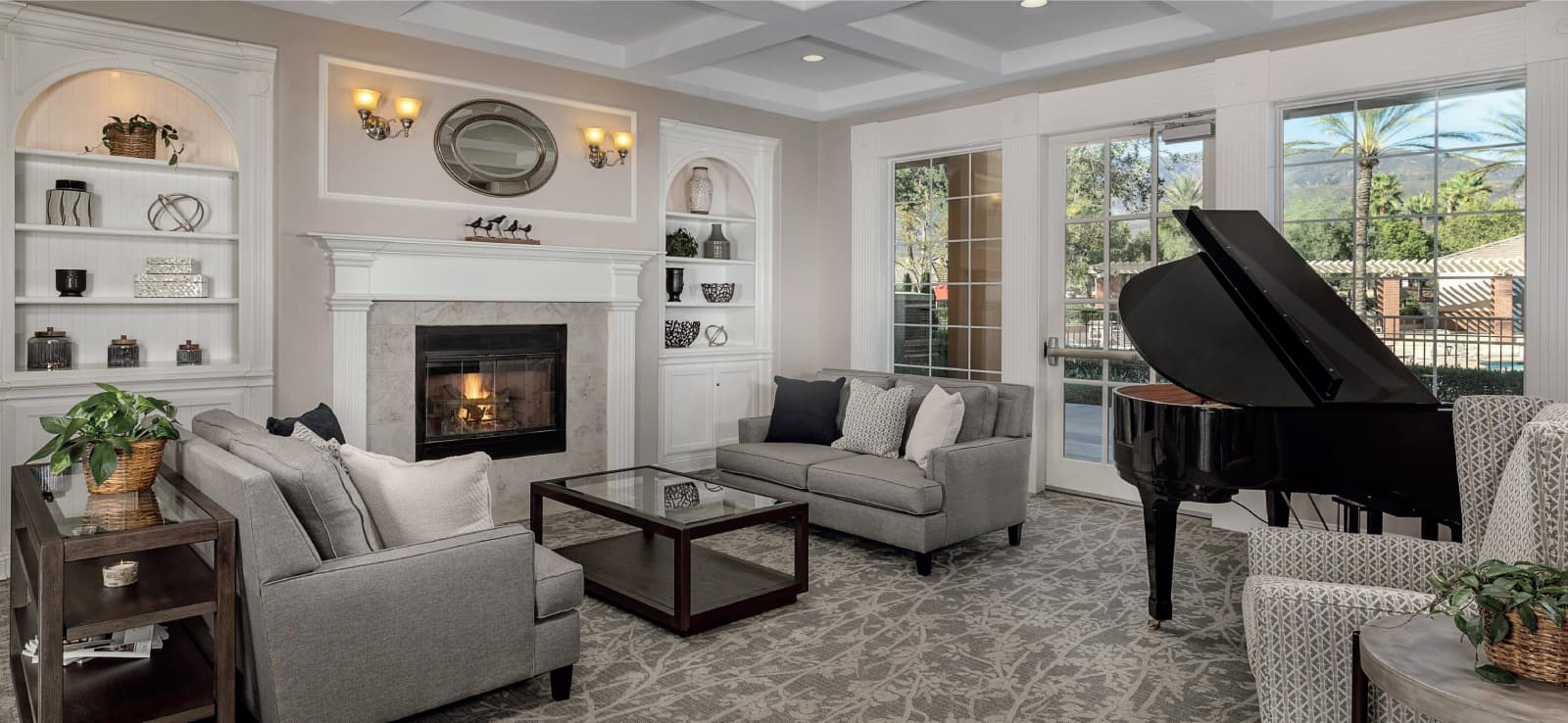 Living Room at The Parkhouse in Shady Trails