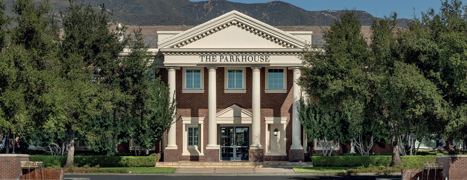 the parkhouse entrance at shady trails